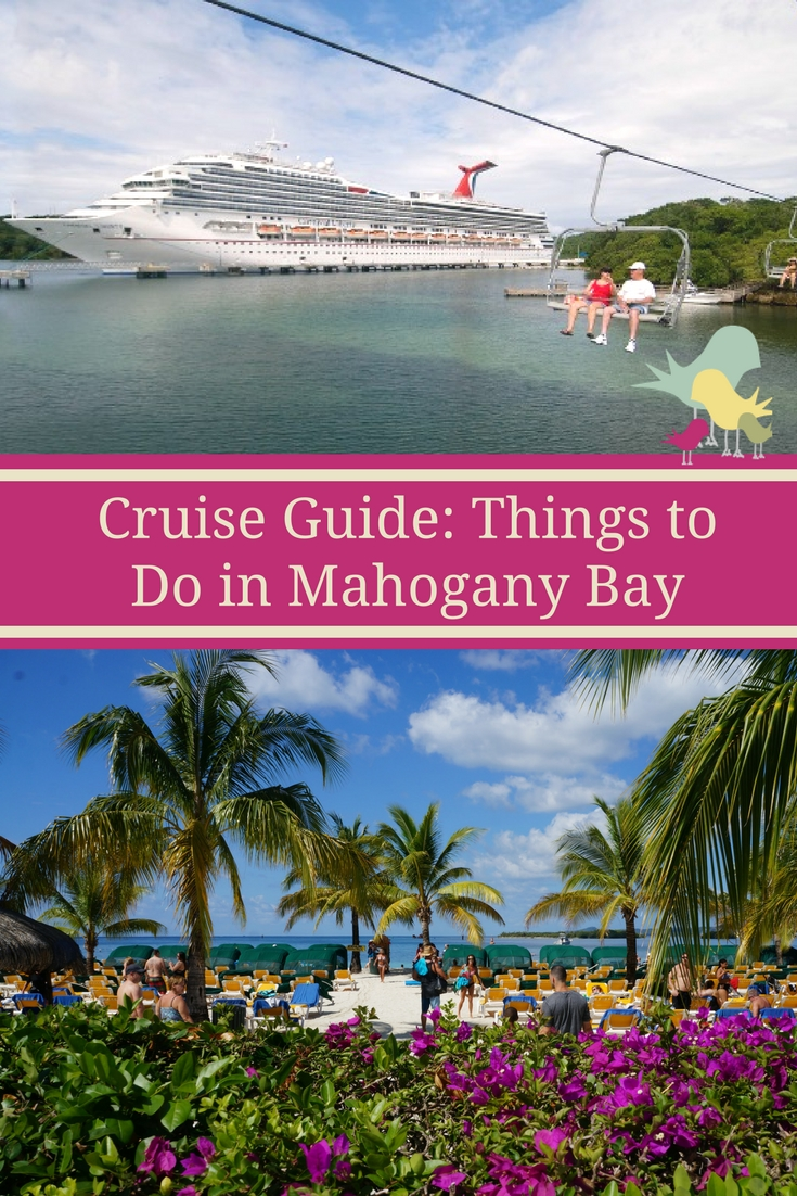 Going on a cruise? Check out these things to do in Mahogany Bay, Isla Roatan.  #CruisingCarnival @carnival