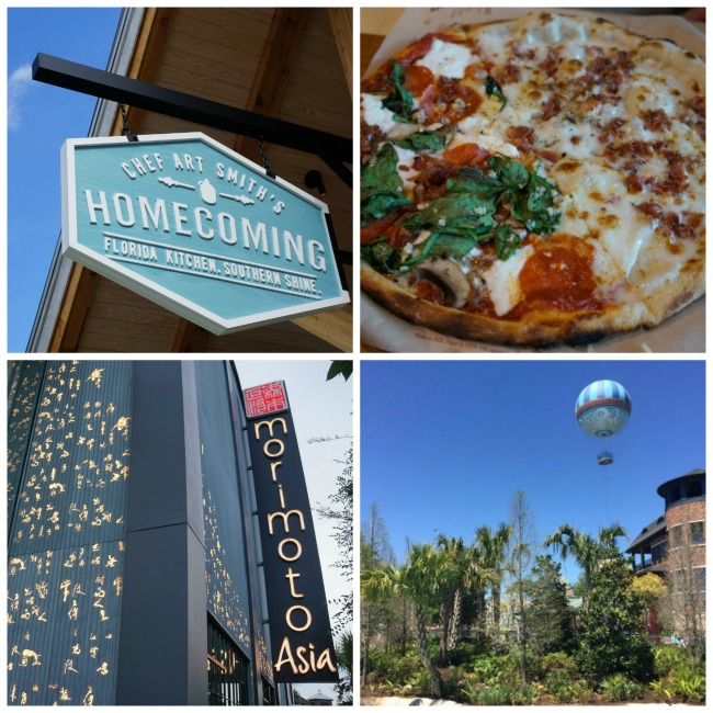 Disney Springs Quick Eats Collage