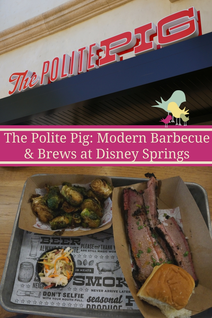 The Polite Pig: Modern Barbecue & Brews at Disney Springs  