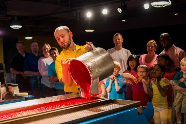 Crayon Factory Show - credit Crayola Experience Orlando