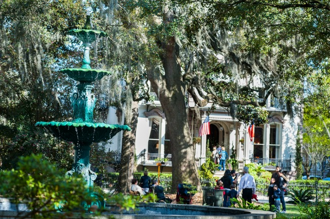 Savannah historic_district - Credit VisitSavannah