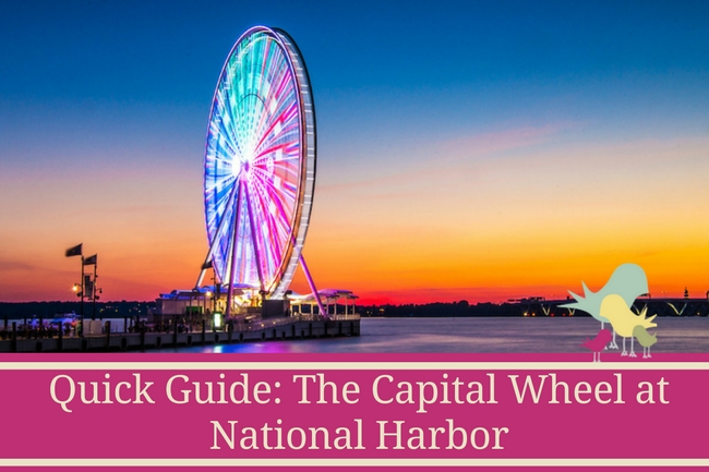 quick guide - the capital wheel at national harbor