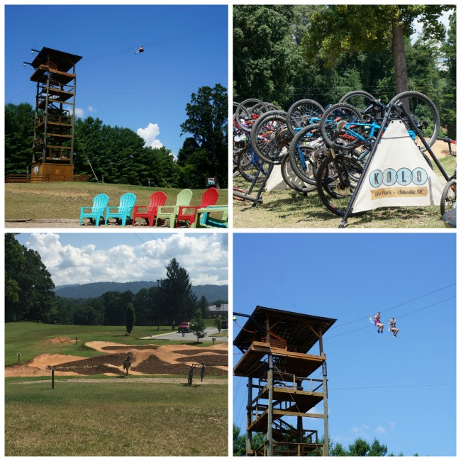 Asheville Adventure Center Collage