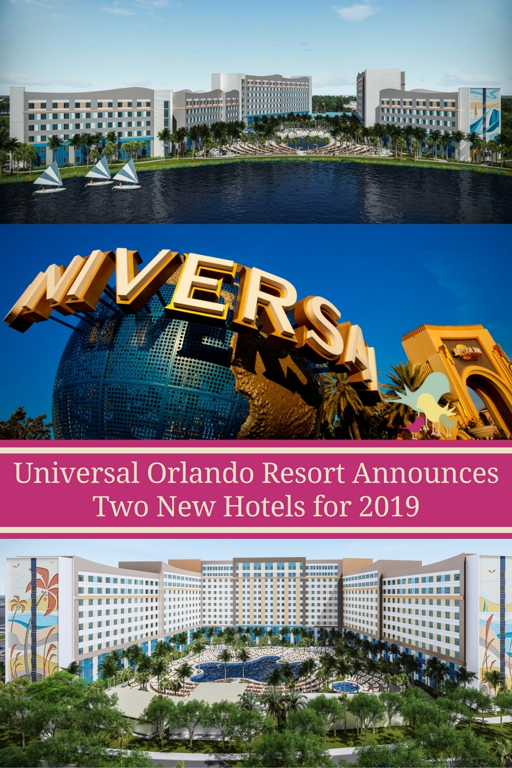 Universal Orlando Resort announces two new hotels opening in 2019.