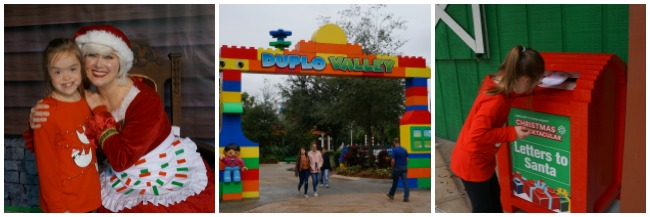 LEGOLAND FLORIDA Christmas Bricktacular Collage