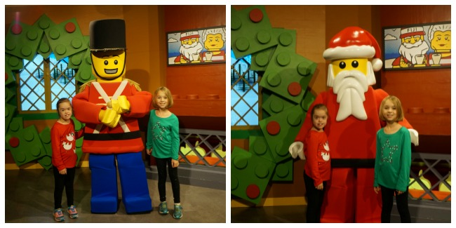 LEGOLAND Florida Santa and Toy Soldier Collage