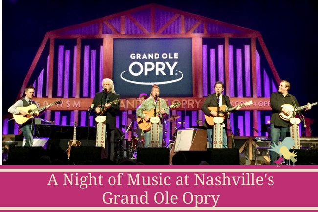 A Night of Music at Nashville's Grand Ole Opry - blog