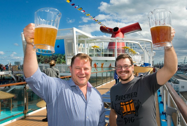 Carnival Horizon - Parched Pig Beer