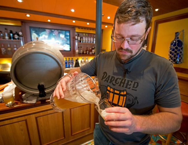 Carnival Horizon Parched Pig Beer Colin Presby