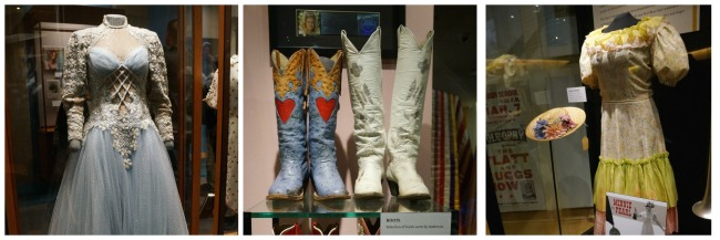 Country Music Hall of Fame Fashion Collage