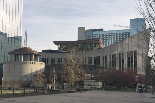 Country Music Hall of Fame and Museum - Exterior Street
