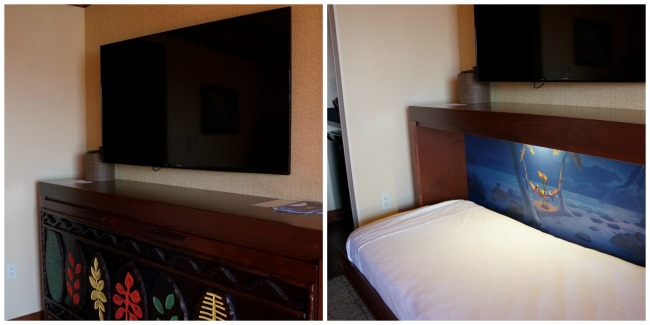 Disney's Polynesian Resort Murphy Studio Bed Collage