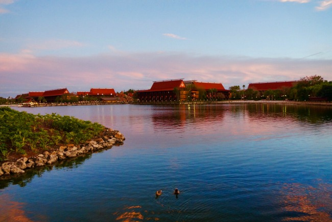 Disney's Polynesian Village Resort - Exterior View