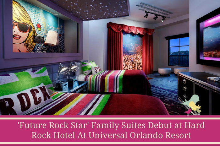 'Future Rock Star' Family Suites Debut at Hard Rock Hotel At Universal Orlando Resort - blog