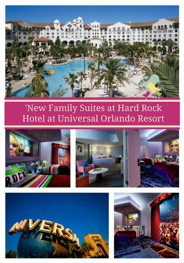 'Future Rock Star' Family Suites Debut at Hard Rock Hotel at Universal Orlando Resort   #UniversalMoments #HardRockHotel