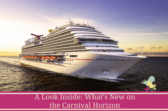 What's New on the Carnival Horizon - blog