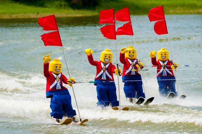 LEGOLAND Florida Water Ski Show - Credit LLF