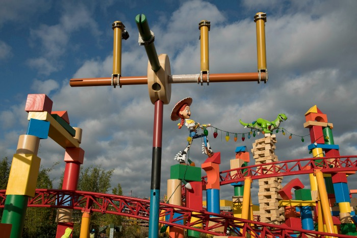Toy Story Land - Side View credit David Roark for WDW