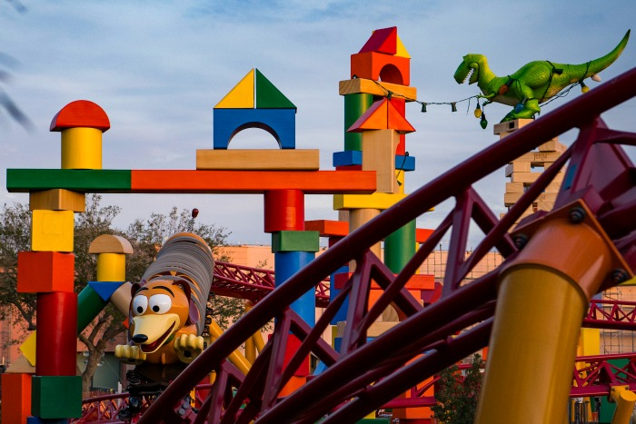 Toy Story Land - Slinky Dog Dash - credit Matt Stroshane for WDW
