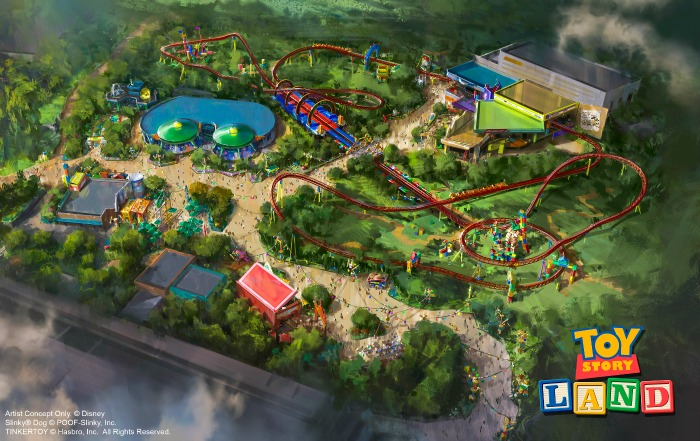 Toy-Story-Land concept art -- creidt Walt Disney World Resort
