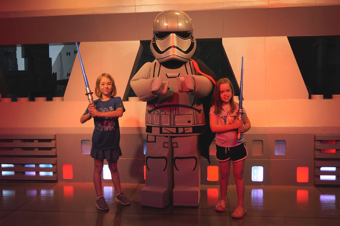 LEGO Captain Phasma at LEGOLAND Florida