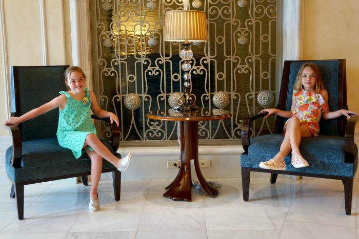 Waldorf Astoria Orlando - Maggie and Molly in Lobby