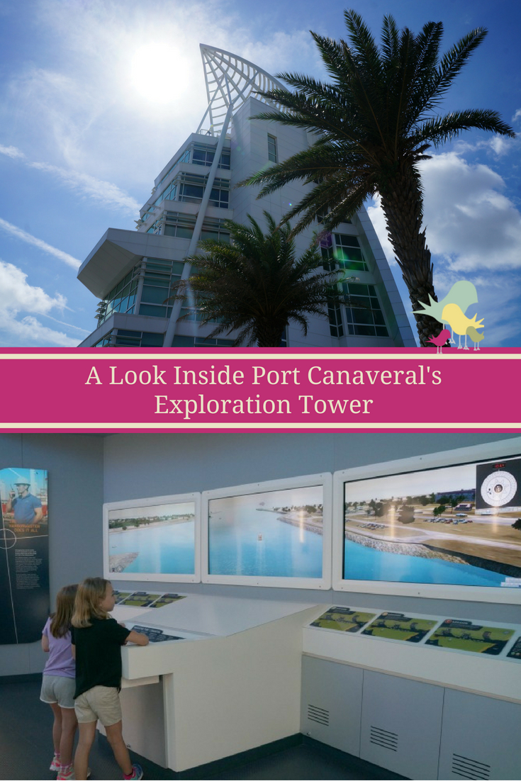 A Look Inside Port Canaveral's Exploration Tower