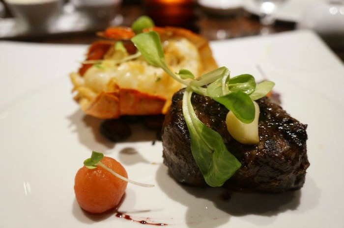 Carnival Cruise Line Steakhouse - Surf and Turf