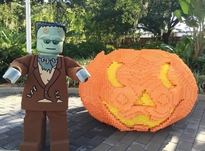 Brick or Treat at LEGOLAND Florida -Frankenstein - credit Chip Litherland for LLF