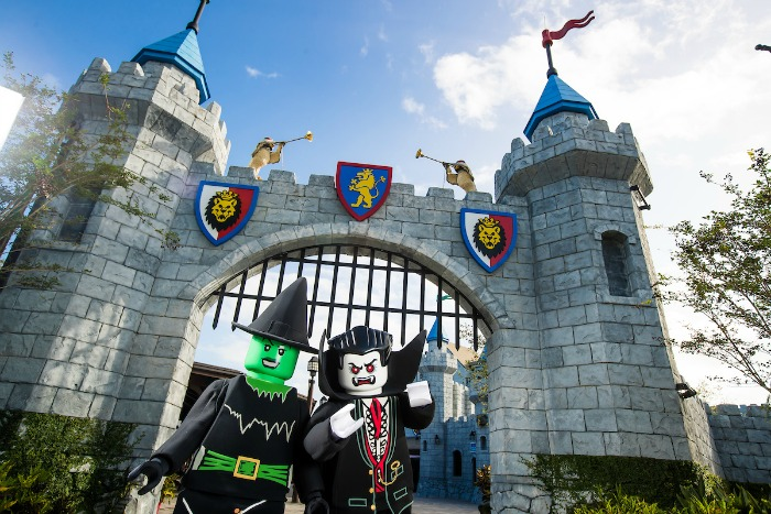 LEGOLAND Florida Brick or Treat - Castle Witch Dracula - credit Chip Litherland for LLF