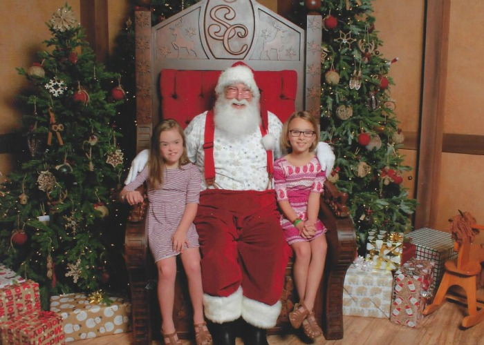Santa at Gaylord Palms - Resized