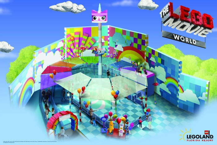 LEGO MOVIE World - LEGOLAND Florida -Unikitty
