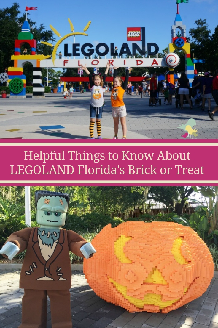 Helpful Things to Know About LEGOLAND Florida's Brick or Treat