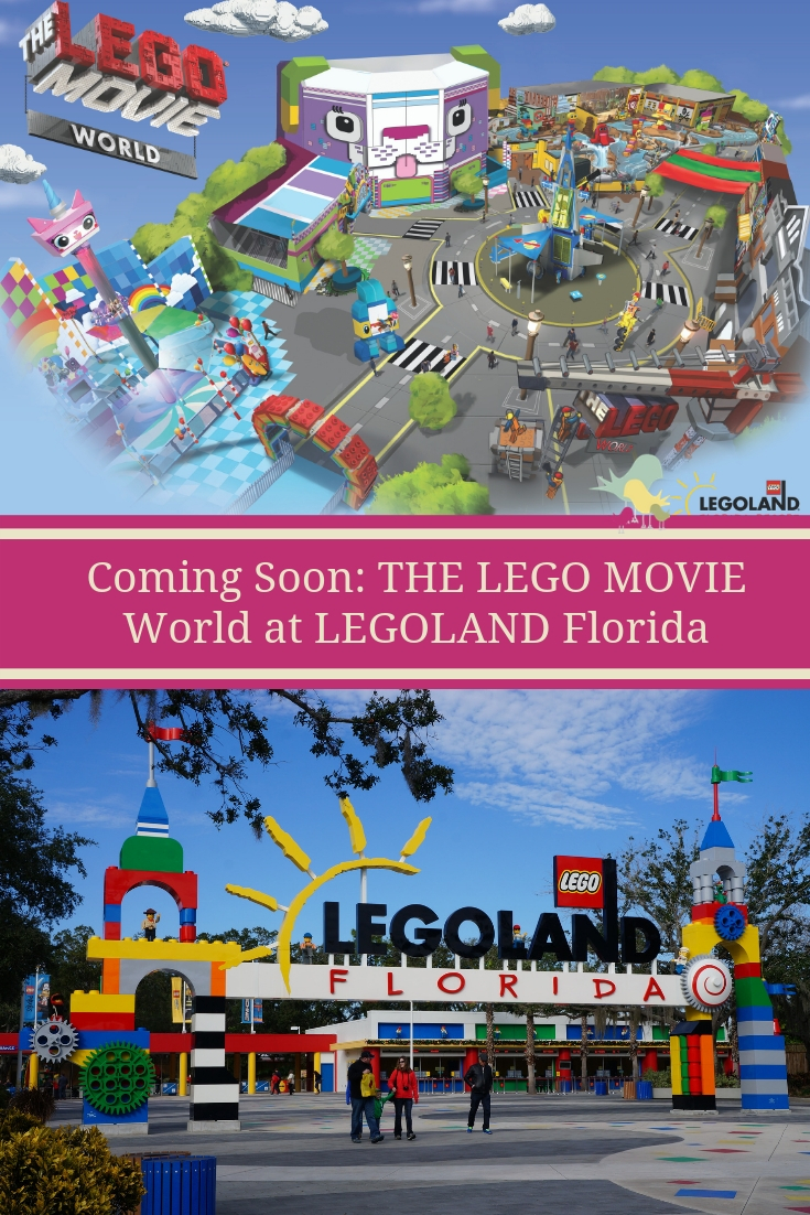 LEGOLAND Florida welcomes a new world in Spring 2019 - THE LEGO MOVIE World with three new attractions and more.