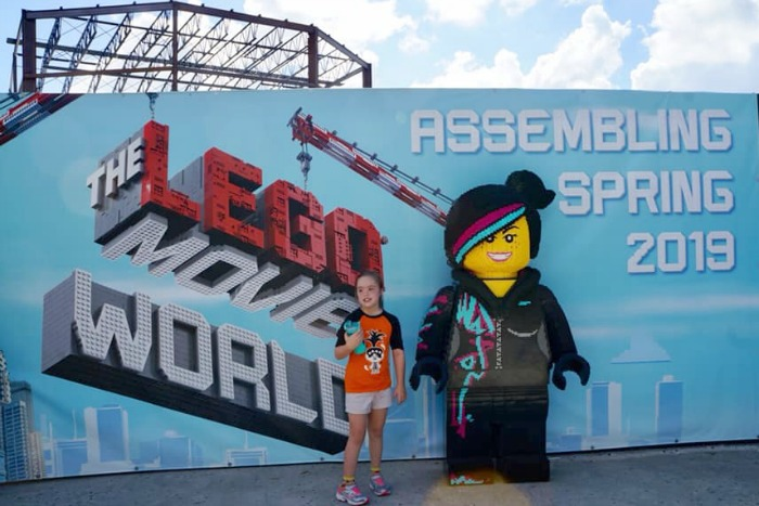 THE LEGO MOVIE World - Sign at LEGOLAND Florida