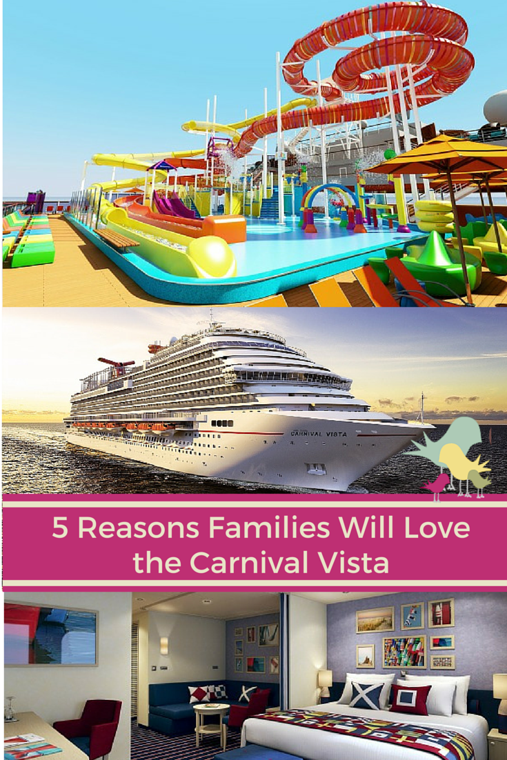 6 Reasons Families Will Love the Carnival Vista