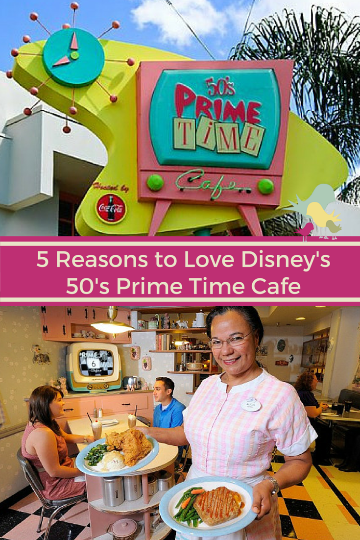 5 Reasons to Love Disney's 50's Prime Time Cafe