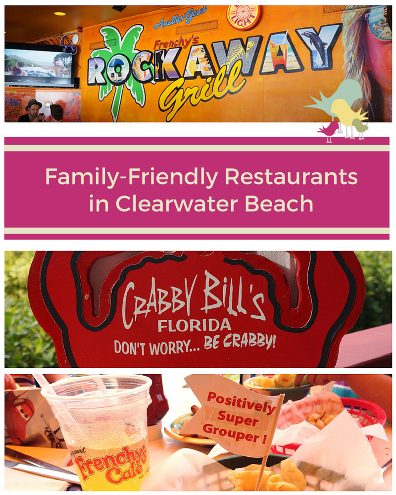 3 Great Family-Friendly Restaurants in Clearwater Beach, Florida