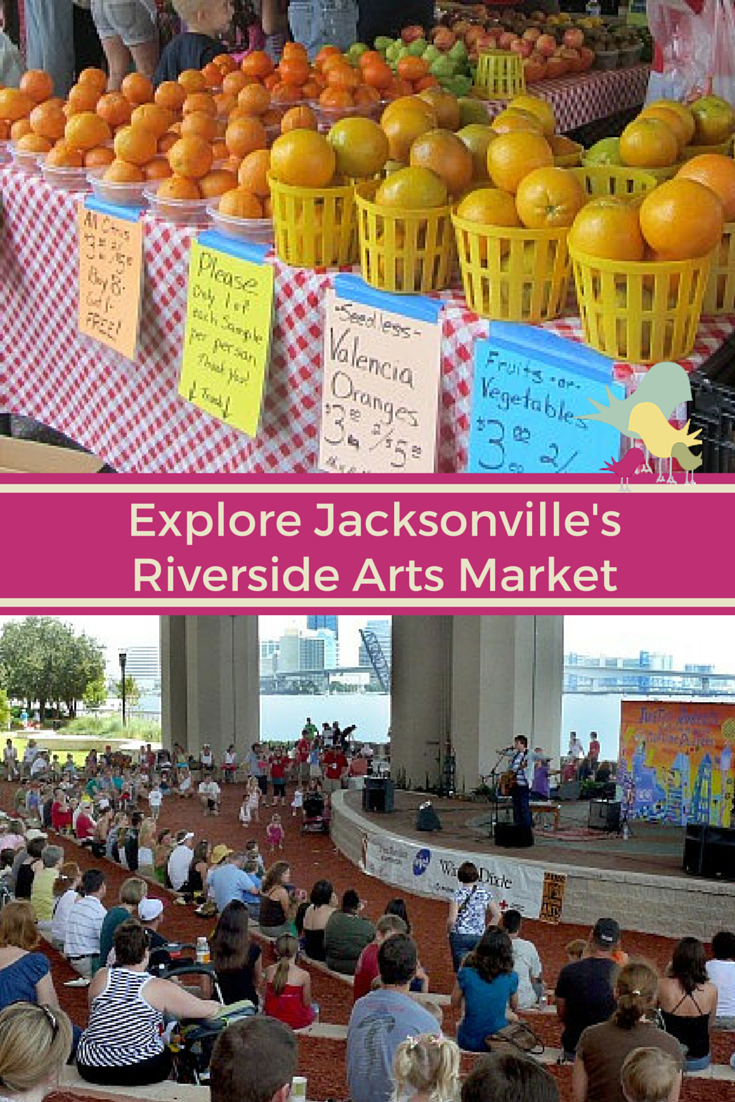 Jacksonville's Riverside Arts Market: Shop, Eat and Explore #onlyinjax #travel