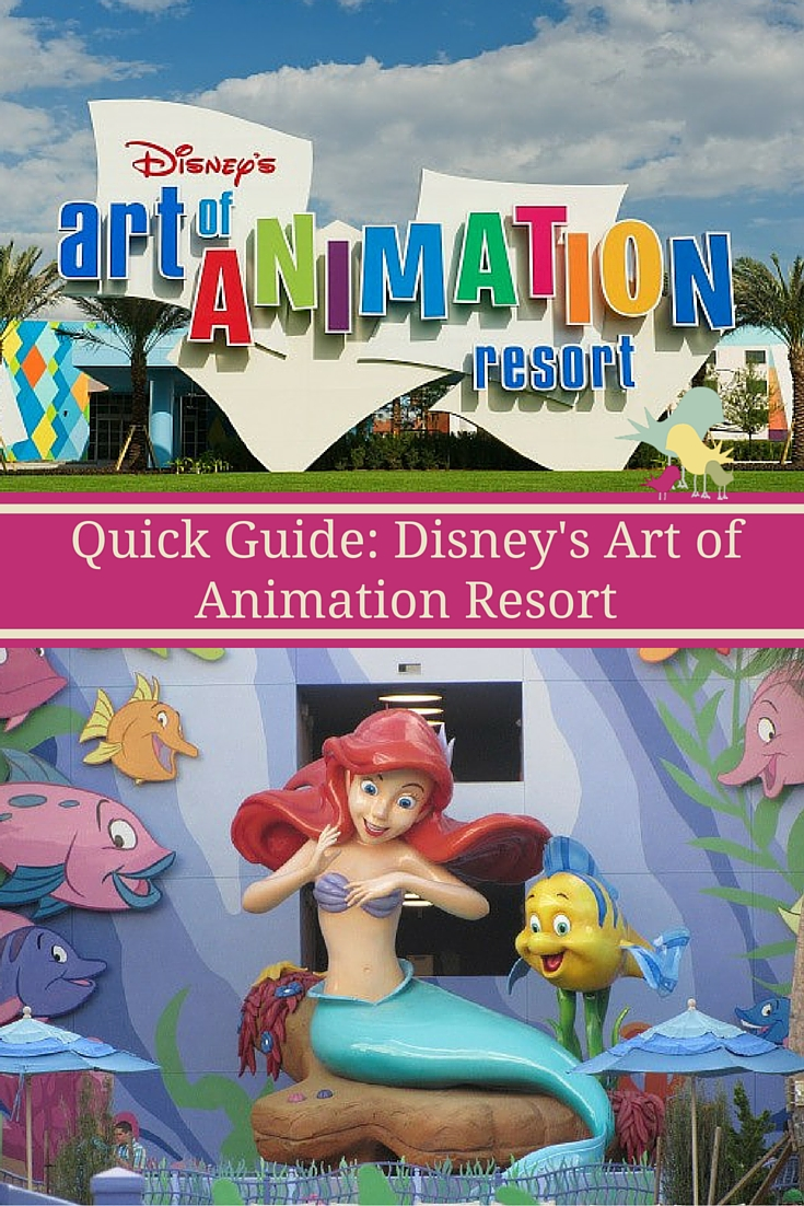 A look at Disney's Art of Animation Resort - from food to family suites, decor, theming and pools - this guide tells you everything you need to make your family's visit a success.