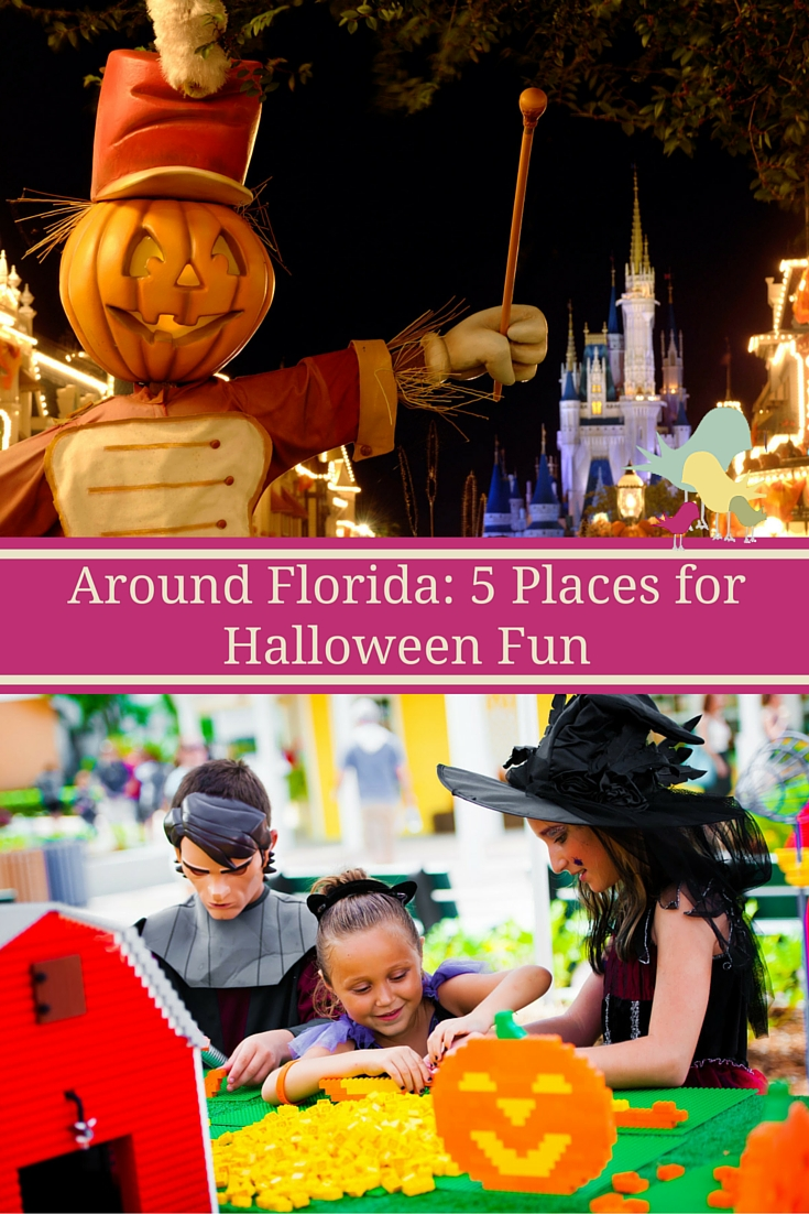 A look at theme park events for Halloween in Florida.