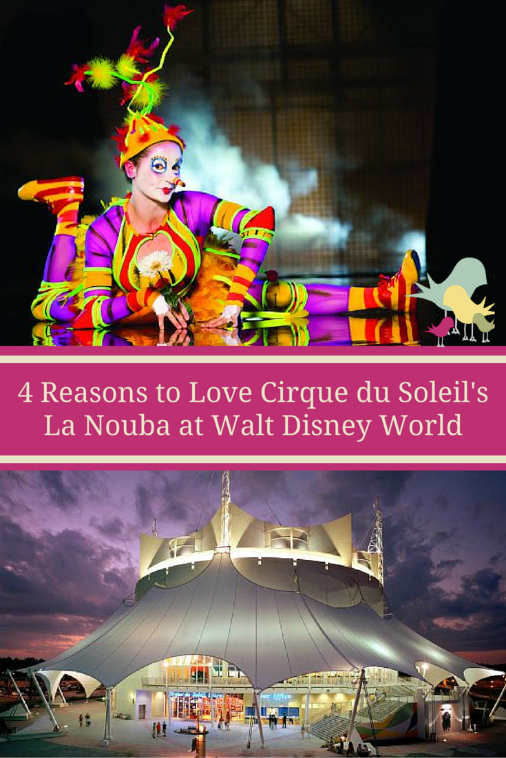 4 Reasons to Love Cirque du Soleil's La Nouba at Walt Disney World #LaNouba