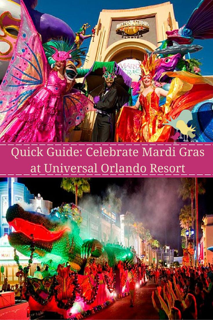 Quick Guide: Celebrate Mardi Gras at Universal Orlando Resort #UniversalMardiGras
