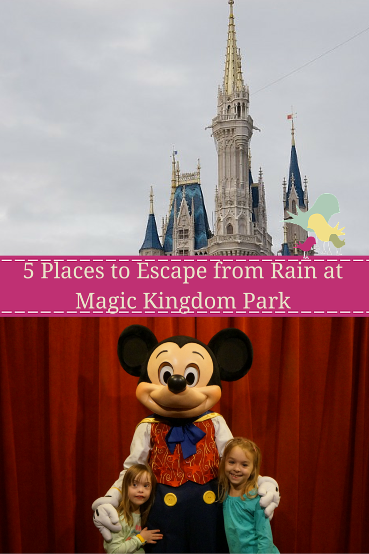 5 Places to Escape from Rain at Magic Kingdom Park