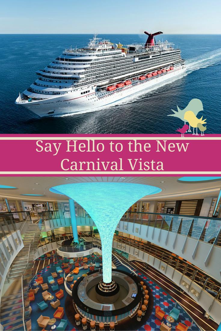 Say Hello to the New Carnival Vista   #carnivalvista #cruisingcarnival #ccl
