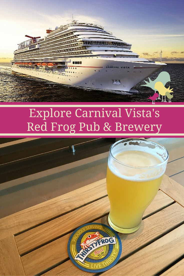Explore Carnival Vista's Red Frog Pub & Brewery