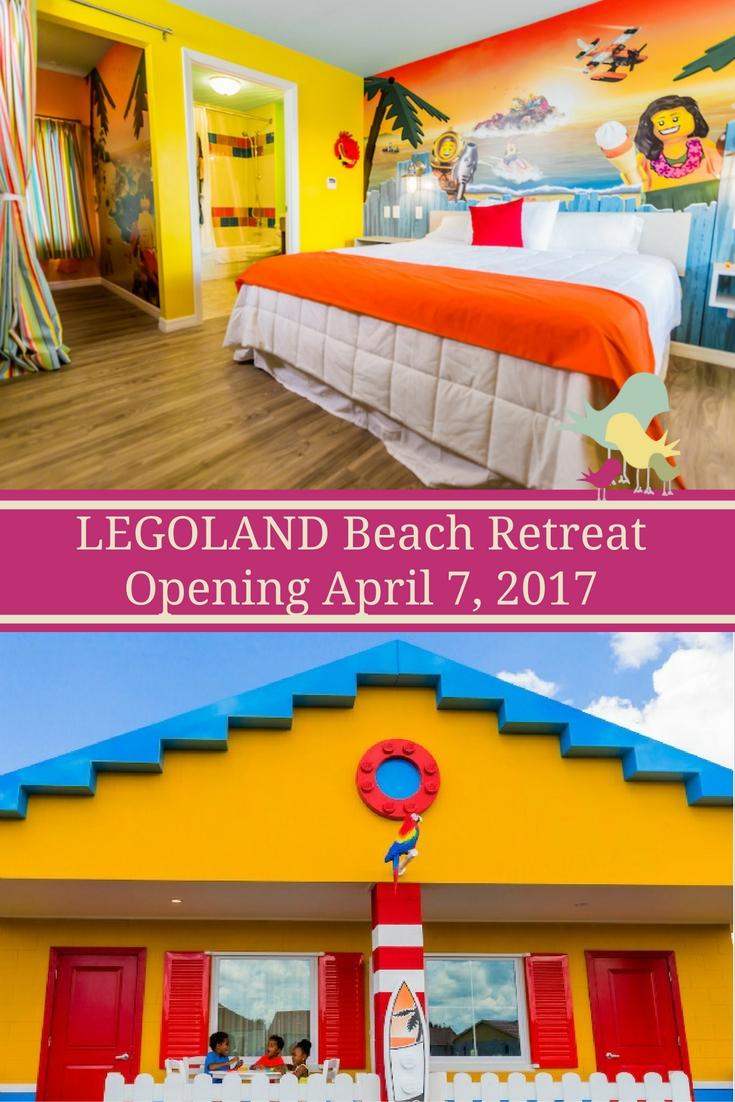 LEGOLAND Beach Retreat Opening on April 7, 2017.