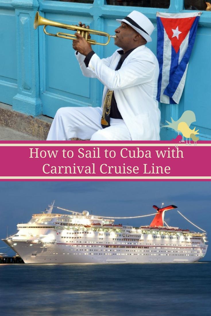 Havana, Cuba Sailings Featured on Select Carnival Paradise Cruises #cruisingcarnival