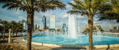 Friendship Fountain in Jacksonville Florida