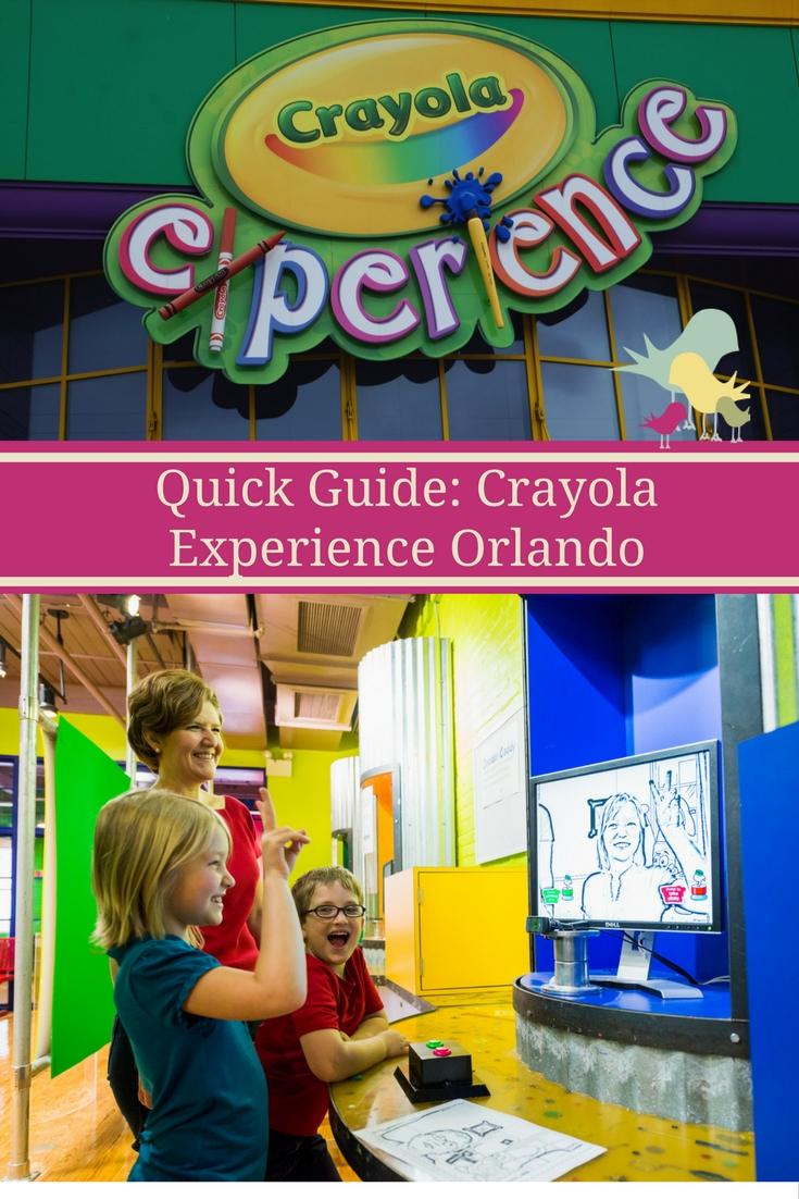 Quick Guide: Crayola Experience Orlando  #CrayolaExperienceOrlando